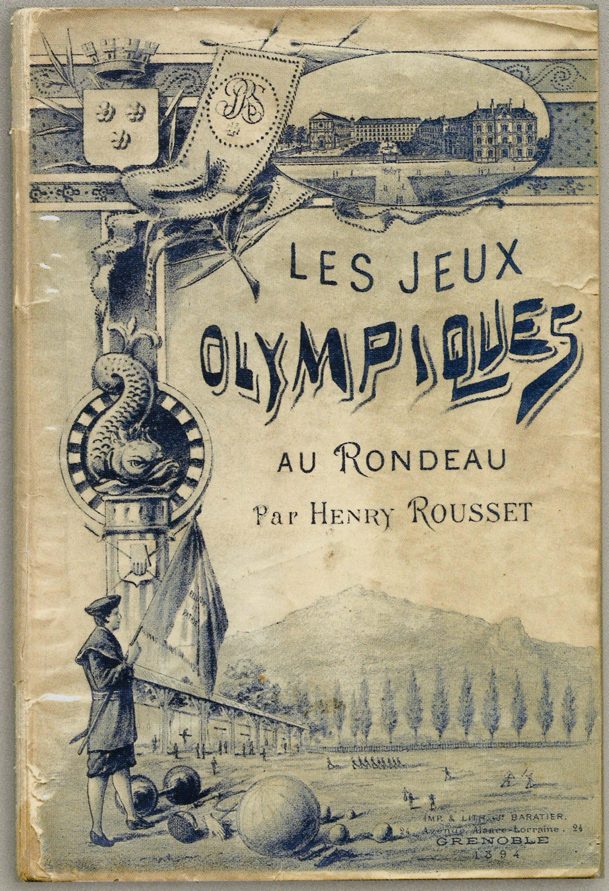 Les jeux olympiques au Rondeau