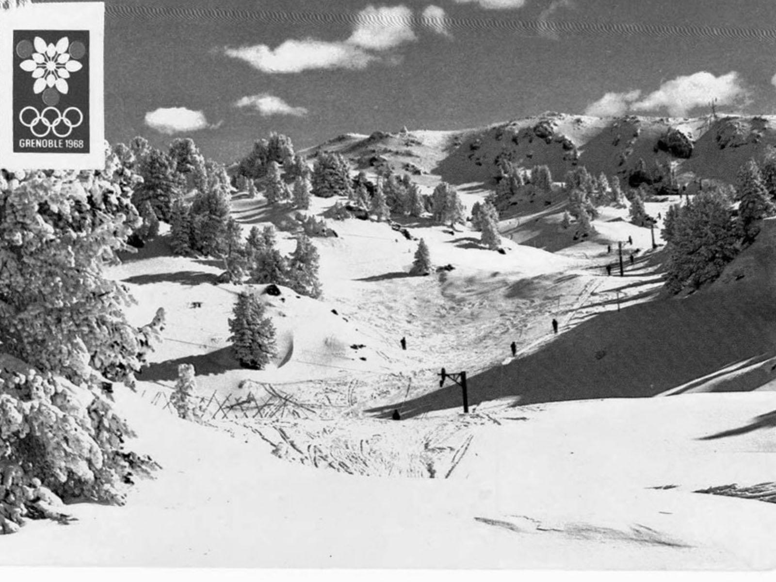 ski alpin Jo Chamrousse