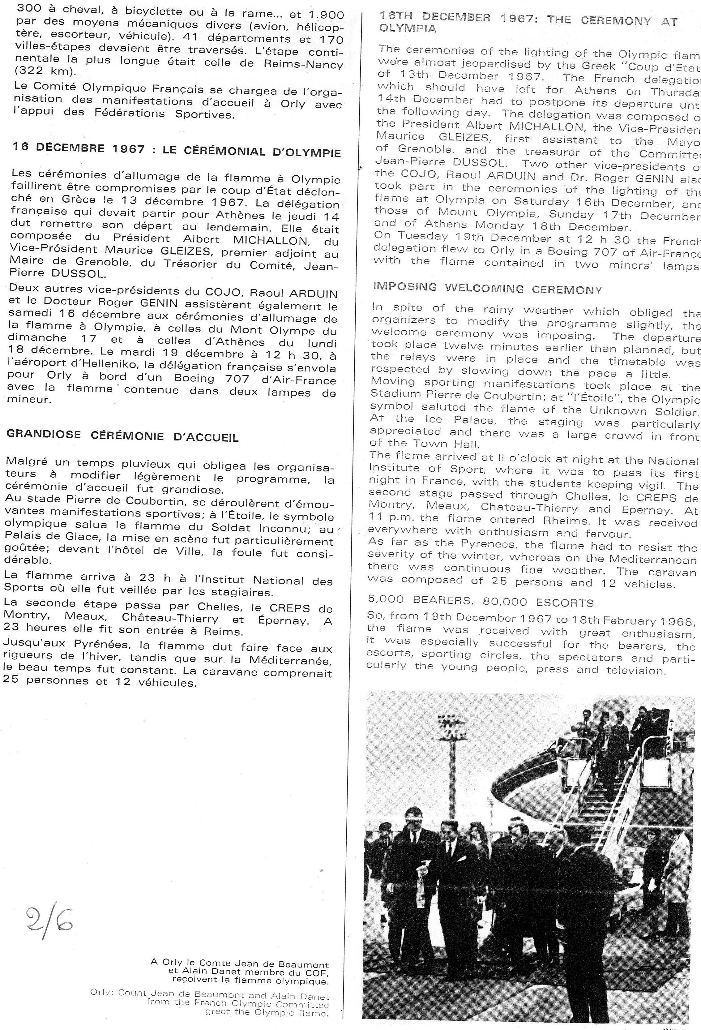 Porteurs de Flamme JO 1968_2