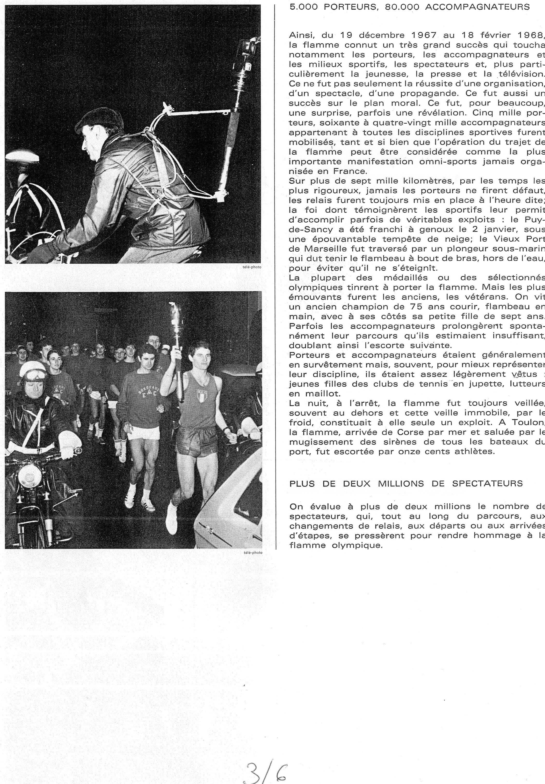 Porteurs de Flamme JO 1968_3