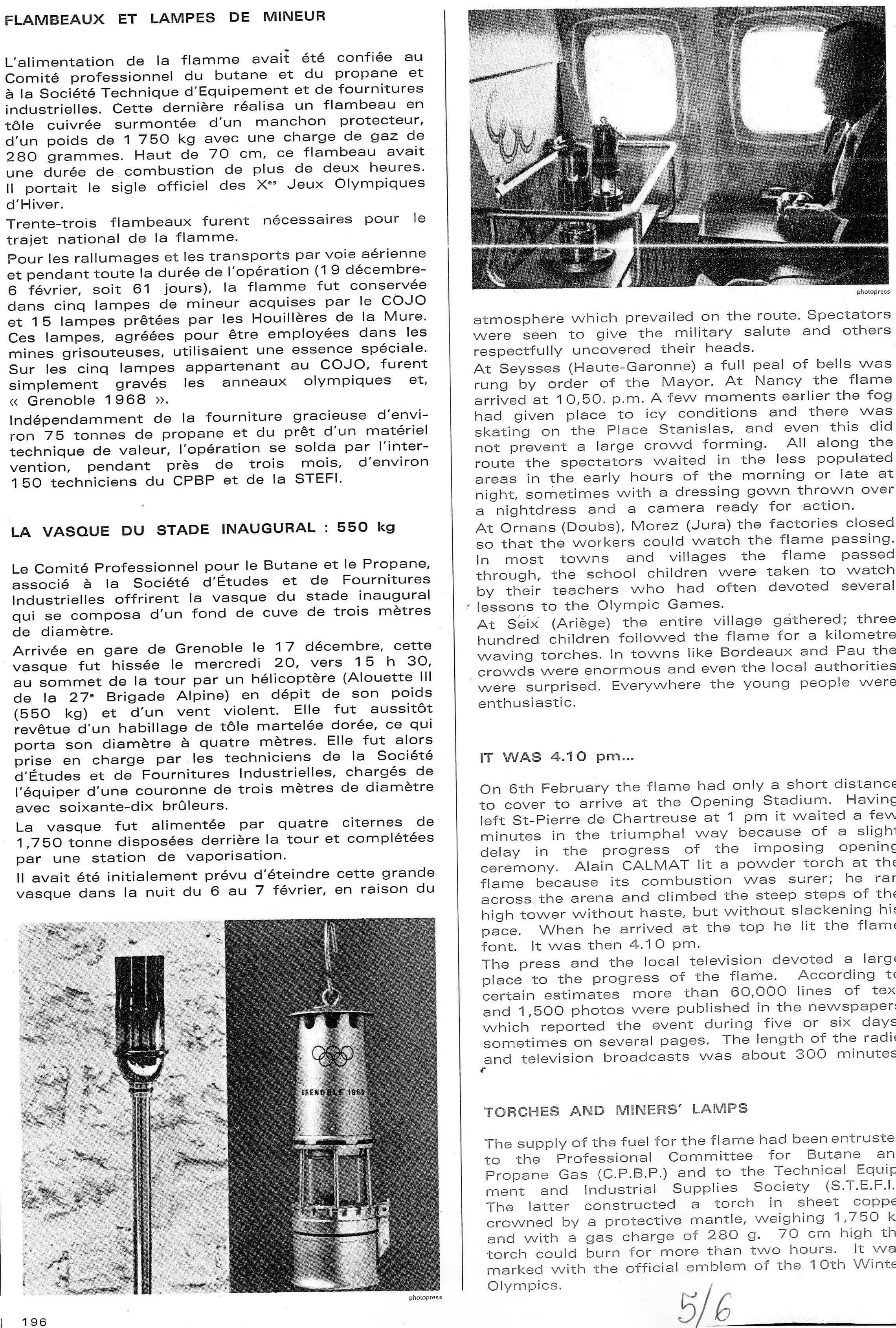 Porteurs de Flamme JO 1968_5